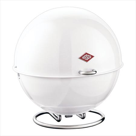 ウエスコ ブレッドボックス スーパーボール ホワイト PWE1801 [7-1782-0501]