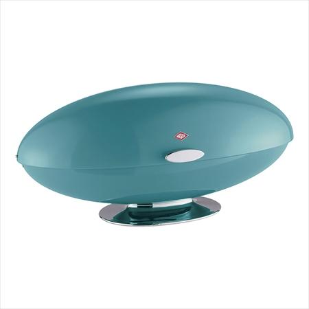 ウエスコ 人気商品 ブレッドボックス スペーシーマスター ターコイズ 完売 PWE2006 7-1782-0706