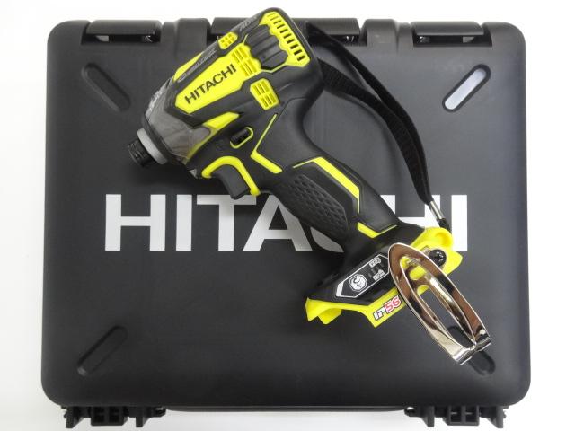 HiKOKI[ 日立工機 (hitachi) ]  18V インパクトドライバー WH18DDL2【本体+ケース】アクティブイエロー