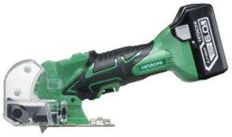 HiKOKI[ 日立工機 ]  14.4V/18V兼用 コードレスナイフカッタ CK18DSAL(LYPK) 【6.0Ah電池付 フルセット】緑