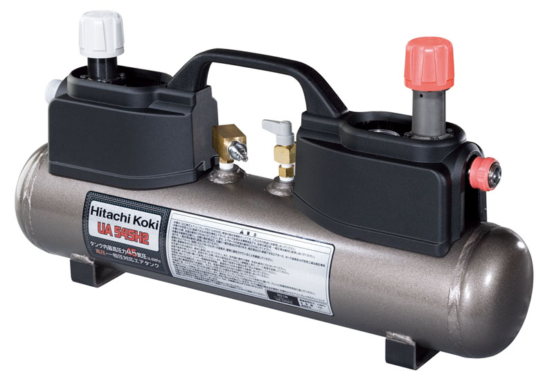 HiKOKI[ 日立工機 (hitachi) ]  高圧エアタンク UA545H2 【高圧・一般圧対応】