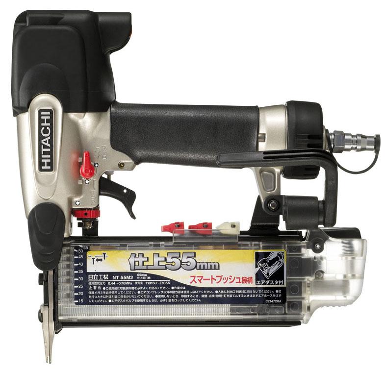 HiKOKI[日立工機] 常圧仕上釘打機NT55M2【ケース付セット】【H02】