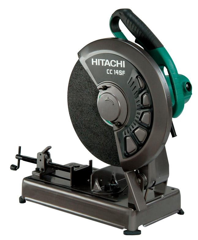 HiKOKI[ 日立工機 (hitachi) ]  高速切断機 CC14SF 【トイシ径355mm 切断能力φ120mm】ワンタッチバイス付