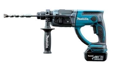 マキタ 18V(3.0Ah) 充電式ハンマドリル●HR202DRFX【フルセット】 青 ※ビット別売【M03】
