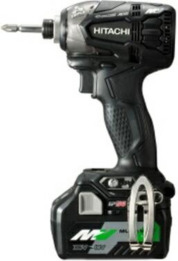 ★マルチボルト★ HiKOKI[ 日立工機 (hitachi) ]  36V インパクトドライバ WH36DA(XPB) 黒 【BSL36A18 電池1個仕様】
