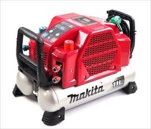 マキタ makita エアコンプレッサ AC462XLR 赤 一般圧/高圧対応(各2口)