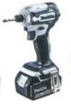 マキタ makita 18V (6.0Ah) 充電式インパクトドライバTD171D【電池1個仕様】 白