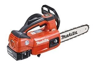マキタ 18V(6.0Ah) 充電式チェンソー200mmMUC204DGXR【フルセット】 赤