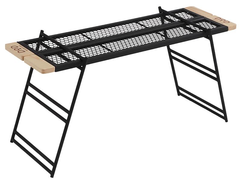 名作 テキーララック OUTDOOR 焚き火の上でも使用できるタフな鉄製テーブルです。TB2-541 [TB2541]プレート2枚、レッグ(S)2枚入りドッペルギャンガーアウトドアDOPPELGANGER OUTDOOR DOD DOD, 飾磨郡:4aa1cb52 --- business.personalco5.dominiotemporario.com