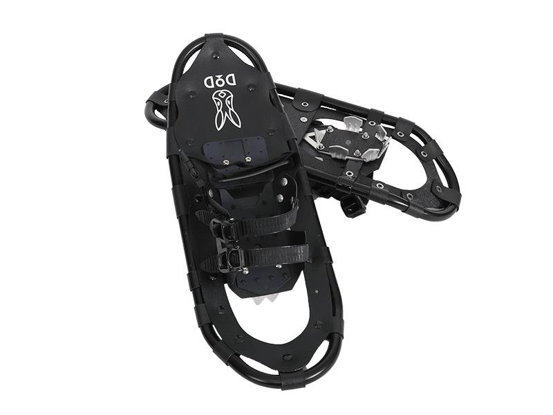 スノーシュー23inch SW-15A カラー:ブラック(ペア)2.2kg SNOWSHOE Black[SW15A] 靴サイズ37.0cmまでDODドッペルギャンガーアウトドア JANCODE : 4589946141108