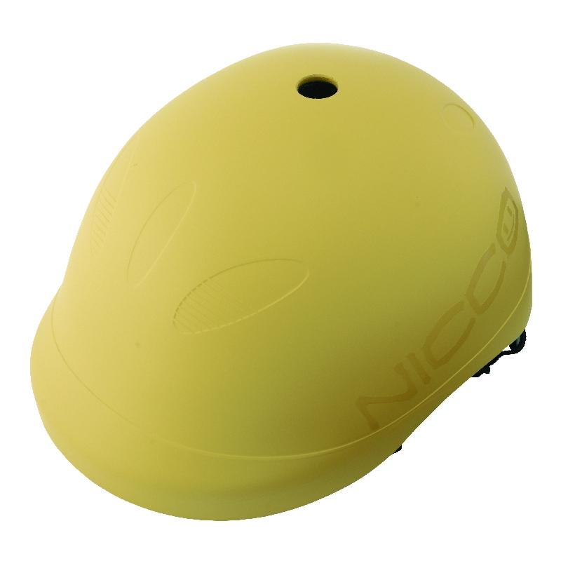 Children's bike helmets for Kids helmet (52-56 cm round head) helmet L L  size color: matte mustard reference age 6-12 years (General school)  KM001LMY