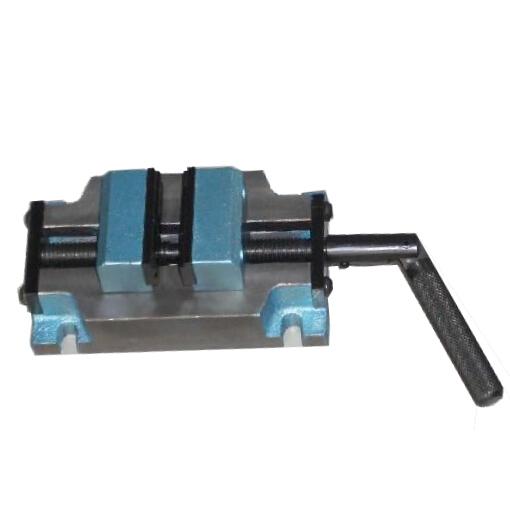 横に倒して使用できます。 小型両開きバイスSC-50 [SC50]オリエンタル(東洋工具)
