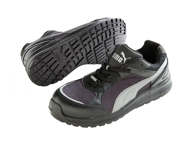 24.5cm プーマセーフティ プーマ安全靴 No.64.333.0 [643330]スプリント・ブラック・ローSprint Black LowElemental Protectpuma safetyプーマ セーフティ4051428064439