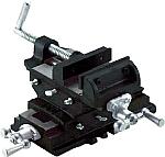 前後、左右と直角に交差するスライド式クロスバイス  鋳鉄製クロスバイス 150mm (TRUSCO(トラスコ中山)) CR-150N [CR150N]トラスコ