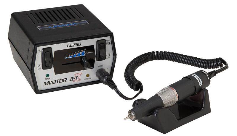 高性能電動マイクログラインダーMinitor Jet2 ミニタージェット2(UC230/MJ13)UM-JET-2 [UMJET2]浦和工業