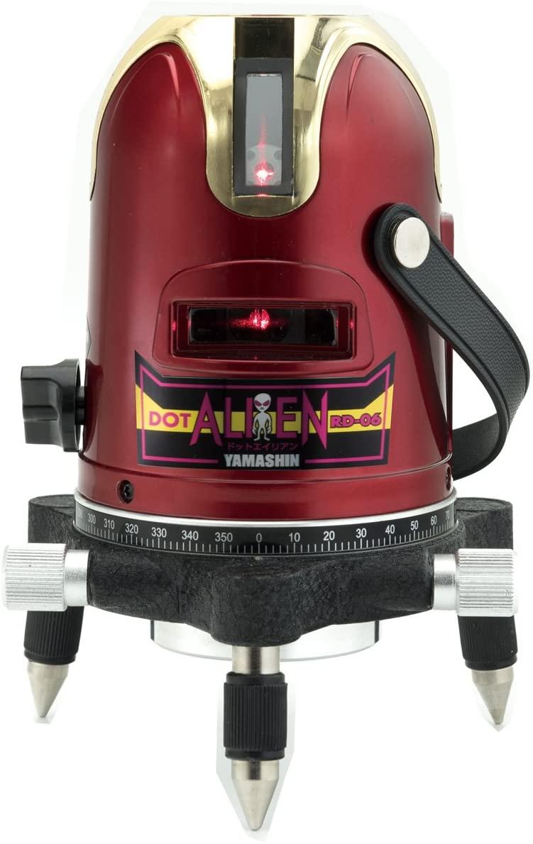 日本正規品 山真レーザー墨出し器 エイリアン 売却 ヤマシン レーザー 山真製鋸 YAMASHIN RD-06 レーザー墨出し器 ドットエイリアン