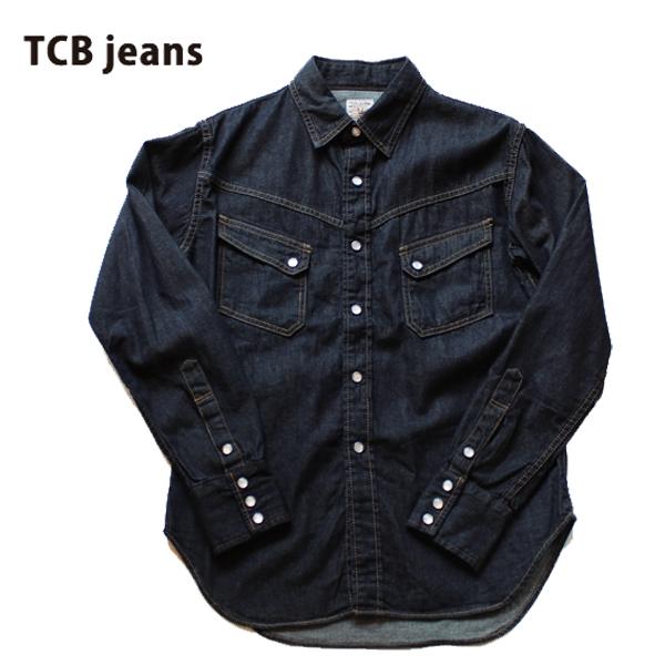 【TCB JEANS(ティーシービー ジーンズ )】TCB RANCHMAN ランチマン Shirt DENIM ウエスタンシャツ DENIM SHIRTS デニムシャツ 日本製 CHAMBRAY シャンブレーシャツ 岡山 MADE IN JAPAN 1st TYPE セカンド LIVI'S REPLICA リーバイス レプリカ VINTAGE ヴィンテージ