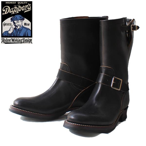 Dapper's(ダッパーズ)】40's Style Engineer Boots LOT1142 Made in Japan 日本製 VINTAGE ヴィンテージ エンジニアブーツ ブーツ ホースバット 馬革 BILT ビルトライト RITE ENDICOTT JOHNSON 茶芯 BLACK 黒 クロ くろ