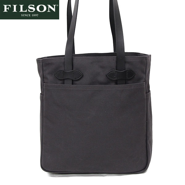 【FILSON】フィルソン #12029 トートバッグ アメリカ製 チャコール/TOTE BAG with out ZIPPER