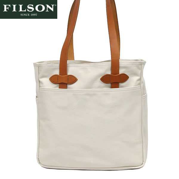 【FILSON】フィルソン #12029 トートバッグ アメリカ製 オフホワイト/TOTE with out ZIPPER