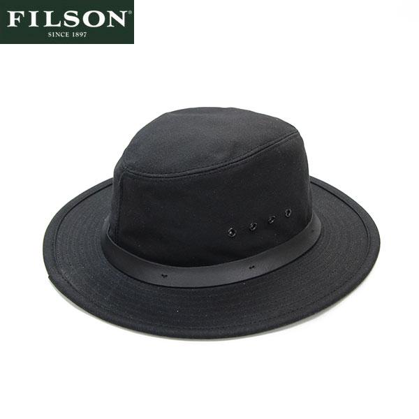 【FILSON】ティンクロス・パッカーハット ブラック/Tin Cloth Packer Hat BLACK