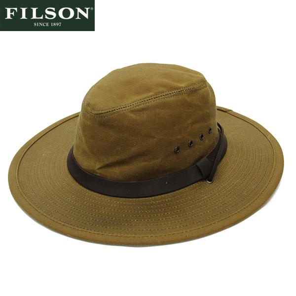 【FILSON】ティンクロス・ブッシュハット ベージュ/Tin Cloth Bush Hat BEIGE
