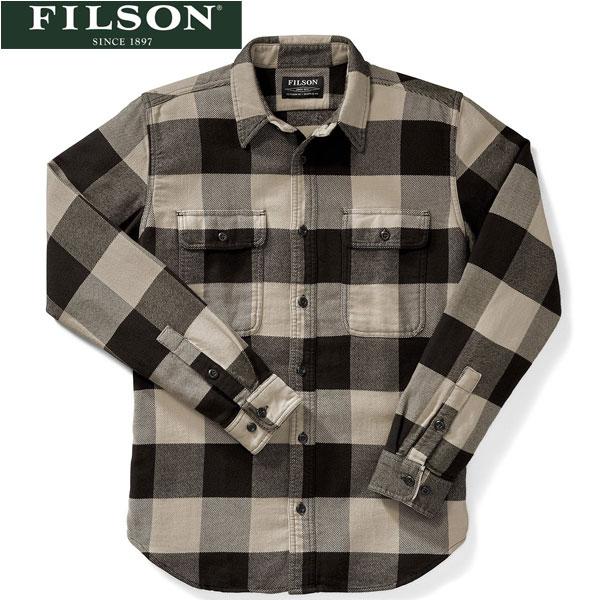 スーパーSALE 【FILSON】(フィルソン)[#10689] VINTAGE FLANNEL SHIRT フランネルシャツ 長袖シャツ BEIGE