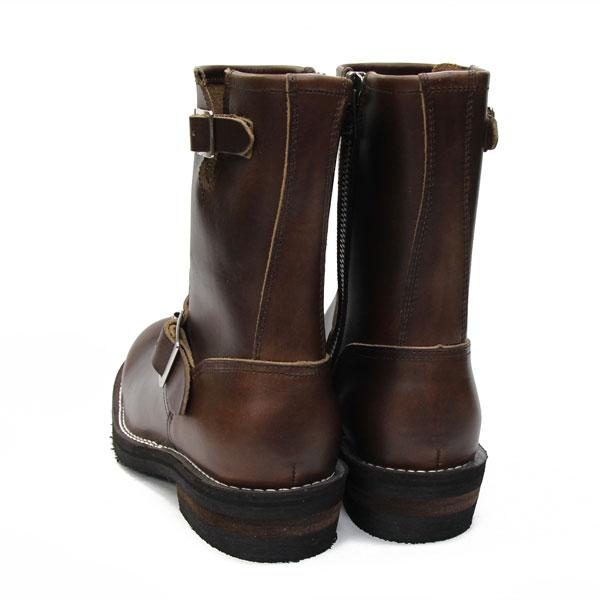 (慢了狮子) 工作靴 3 个月保修,以及在日本 cromexerlezer 工程师引导 Vibram 美国-# 700 定制布朗 [OB-8595HT] 国内男装 / SLOWWEARLION / 慢狮子 10P22Jul14