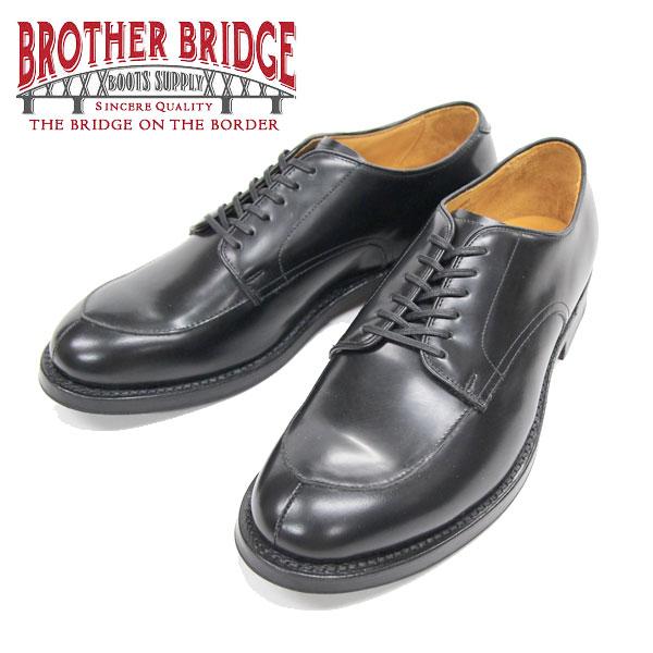 【BROTHER BRIDGE】(ブラザーブリッジ)Vチップシューズ #BBB-23403 BLACK
