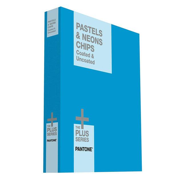 【送料無料】パントンプラスシステム パステル & ネオン・チップス(コート紙、上質紙)