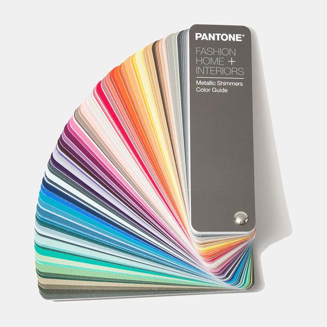 【送料無料】パントン・ファッション、ホーム + インテリア・メタリックシマーズカラーガイド