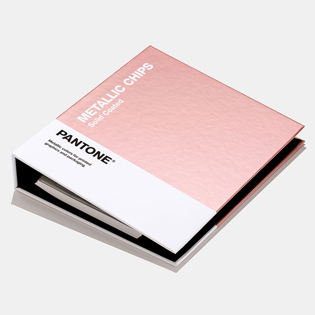 【送料無料】パントンメタリックコーテッドチップブック