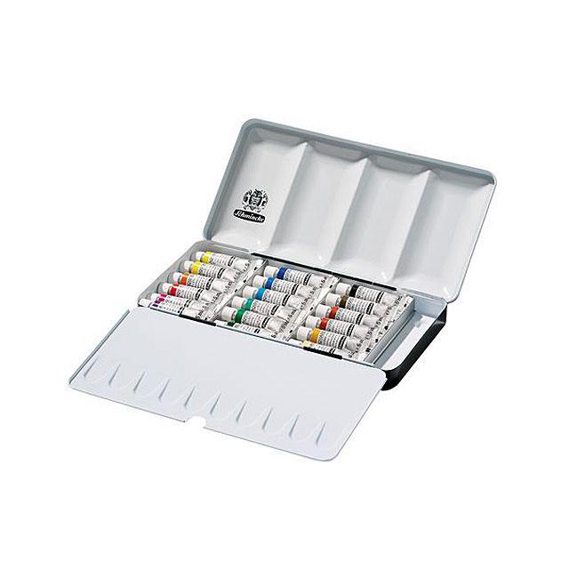 シュミンケ ホラダム透明水彩絵具 18色セット 74118