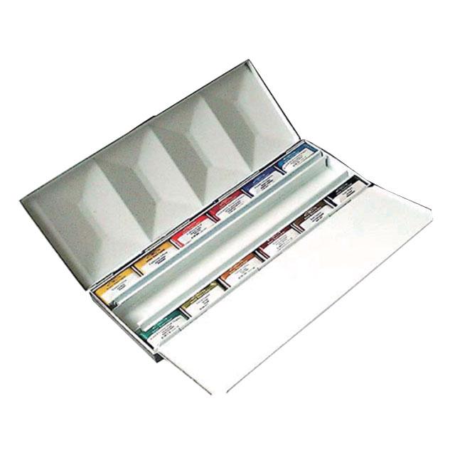 W&N PWC固形水彩絵具 ホールパン 12色ヘビーウェイトボックス