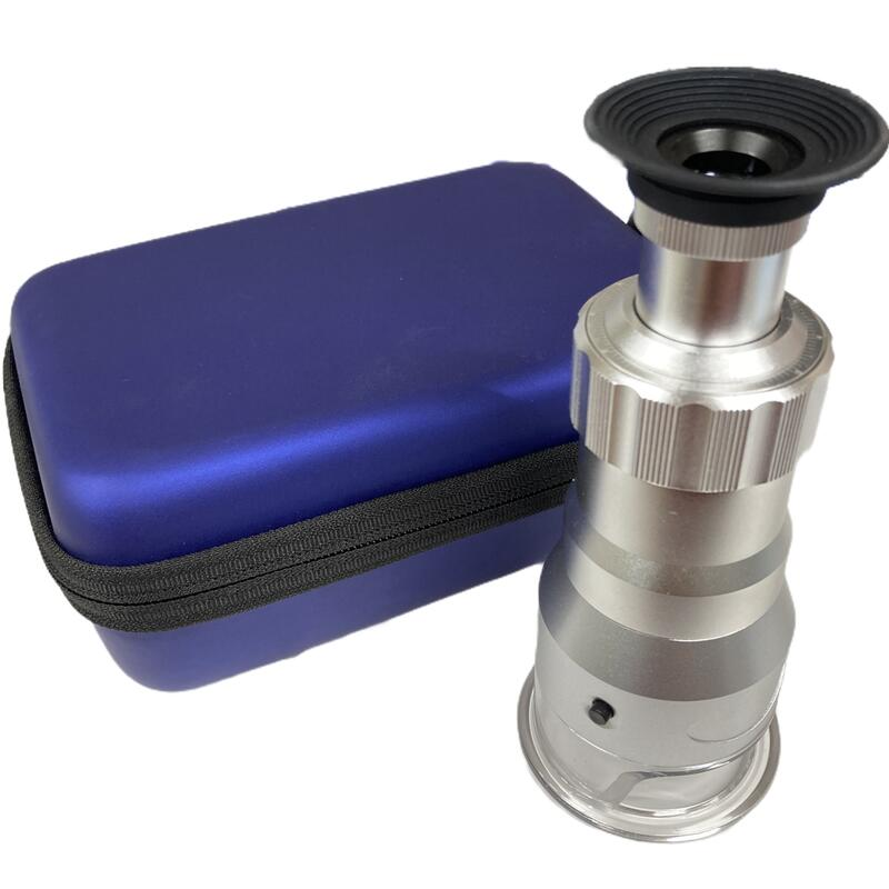 小型顕微鏡 LEDライト� 20倍 タイムセール 40倍 60倍 USB充電 鑑定 観察 マイクロスコープ 送料無料激安祭 スケール�き 顕微鏡 検査
