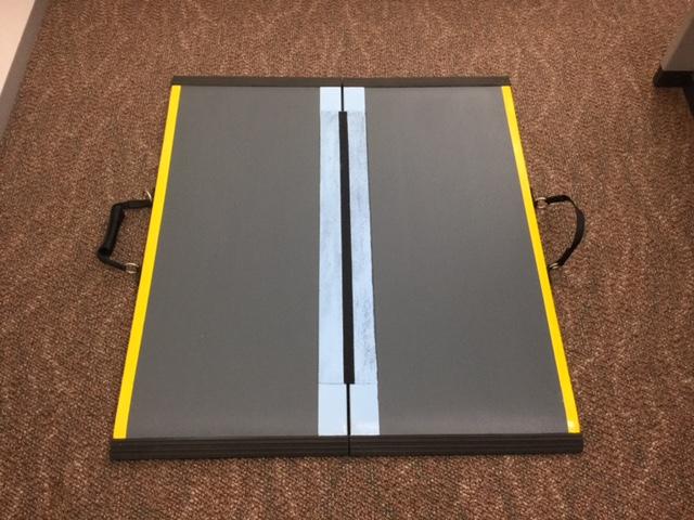 【中古】送料無料 ダンスロープライト 長さ85cm 幅78.5cmスロープ N-85B ダンロップホームプロダクツ社製