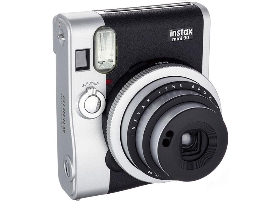 【チェキ】FUJIFILM フジフィルム instax mini90 ネオクラシック BLACK ブラック