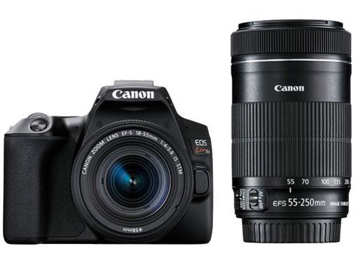 【新品】キヤノン Canon EOS Kiss X10(ブラック)・ダブルズームキット