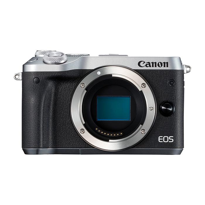 Canon キヤノン EOS M6 ボディ SL(シルバー) ミラーレスカメラ(レンズ別売り)
