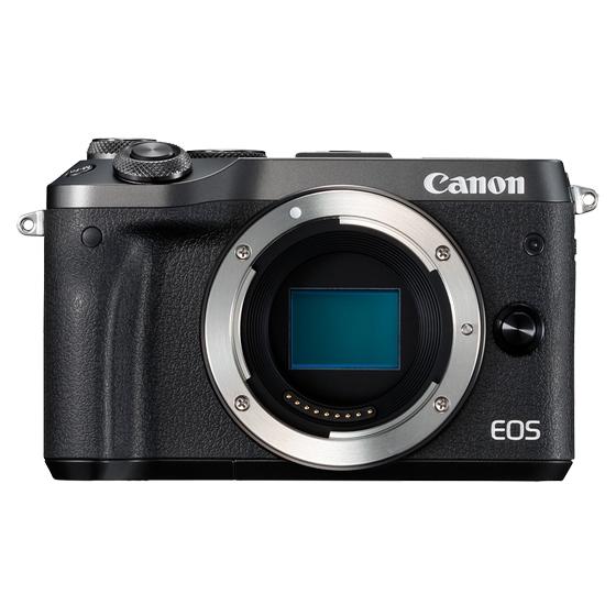 Canon キヤノン EOS M6 ボディ BK(ブラック) ミラーレスカメラ(レンズ別売り)
