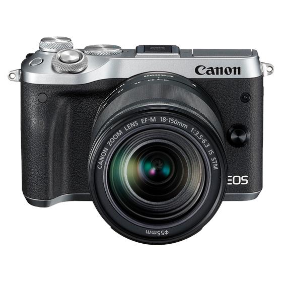 Canon キヤノン EOS M6・EF-M18-150 IS STM レンズキット SL(シルバー) ミラーレスカメラ