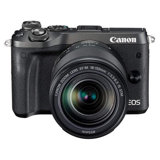 Canon キヤノン EOS M6・EF-M18-150 IS STM レンズキット BK(ブラック) ミラーレスカメラ