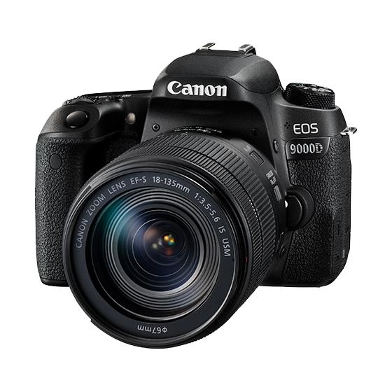 【新品】Canon キヤノン EOS 9000D・EF-S18-135 IS USM レンズキット