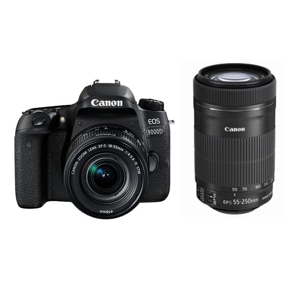 【新品】Canon キヤノン EOS 9000D・ダブルズームキット