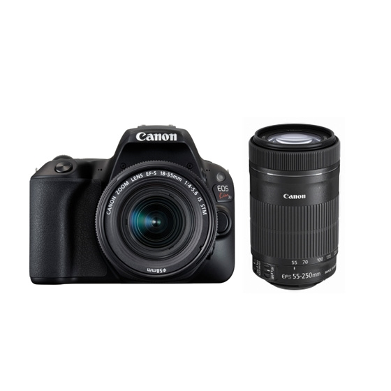 【新品】Canon キヤノン EOS Kiss X9(ブラック)・ダブルズームキット