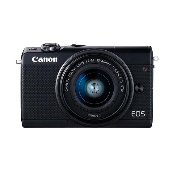 Canon キヤノン EOS M100・EF-M15-45 IS STMレンズキット BK(ブラック) ミラーレスカメラ