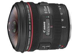 Canon キヤノン EF8-15mm F4L フィッシュアイ USM