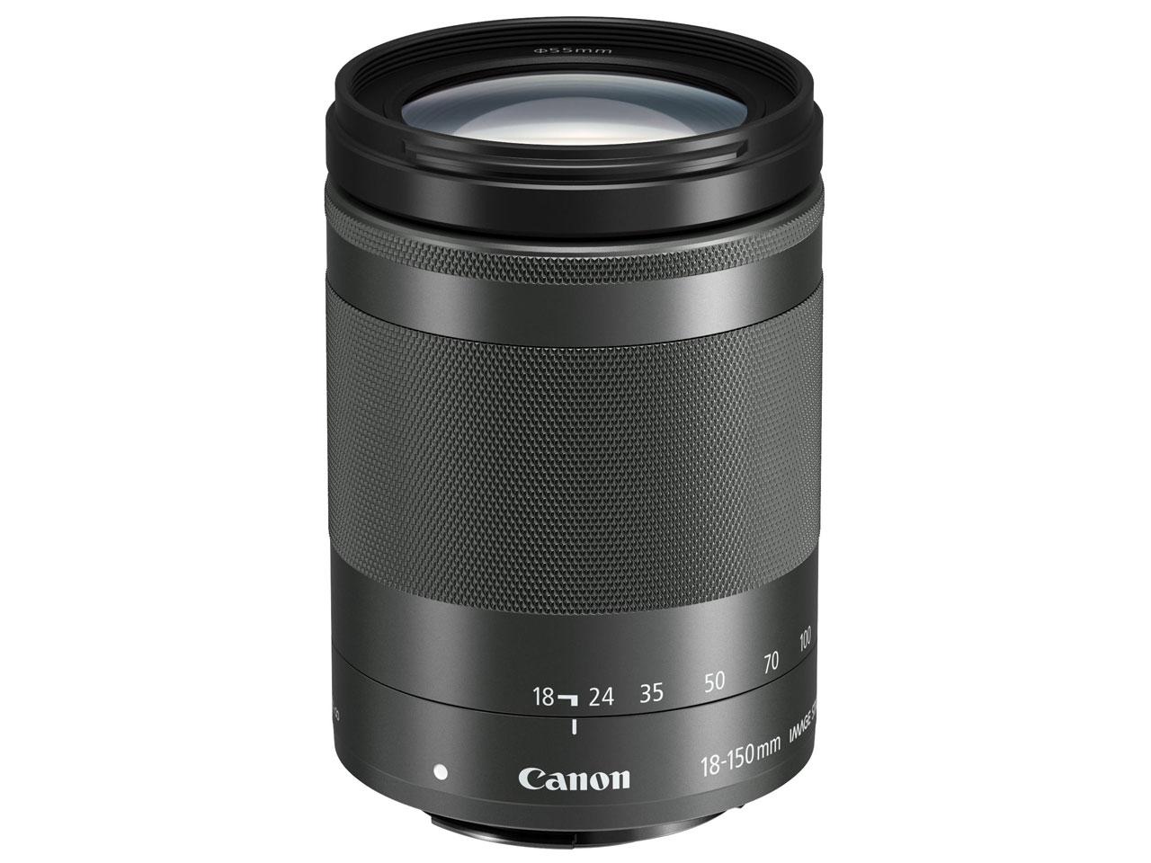 キヤノン Canon EF-M18-150mm F3.5-6.3 IS STM [グラファイト]