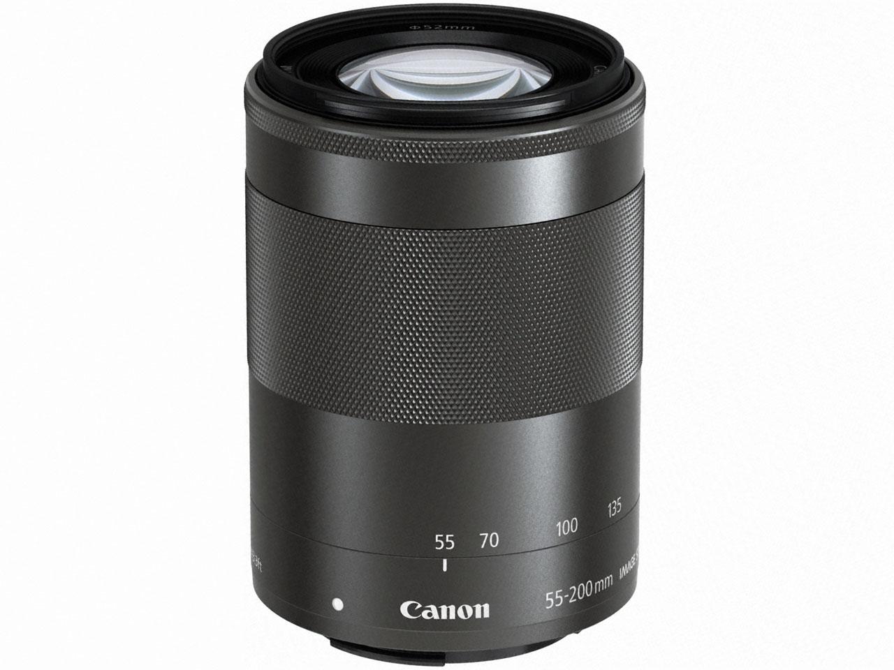 キヤノン Canon EF-M55-200mm F4.5-6.3 IS STM [グラファイト]