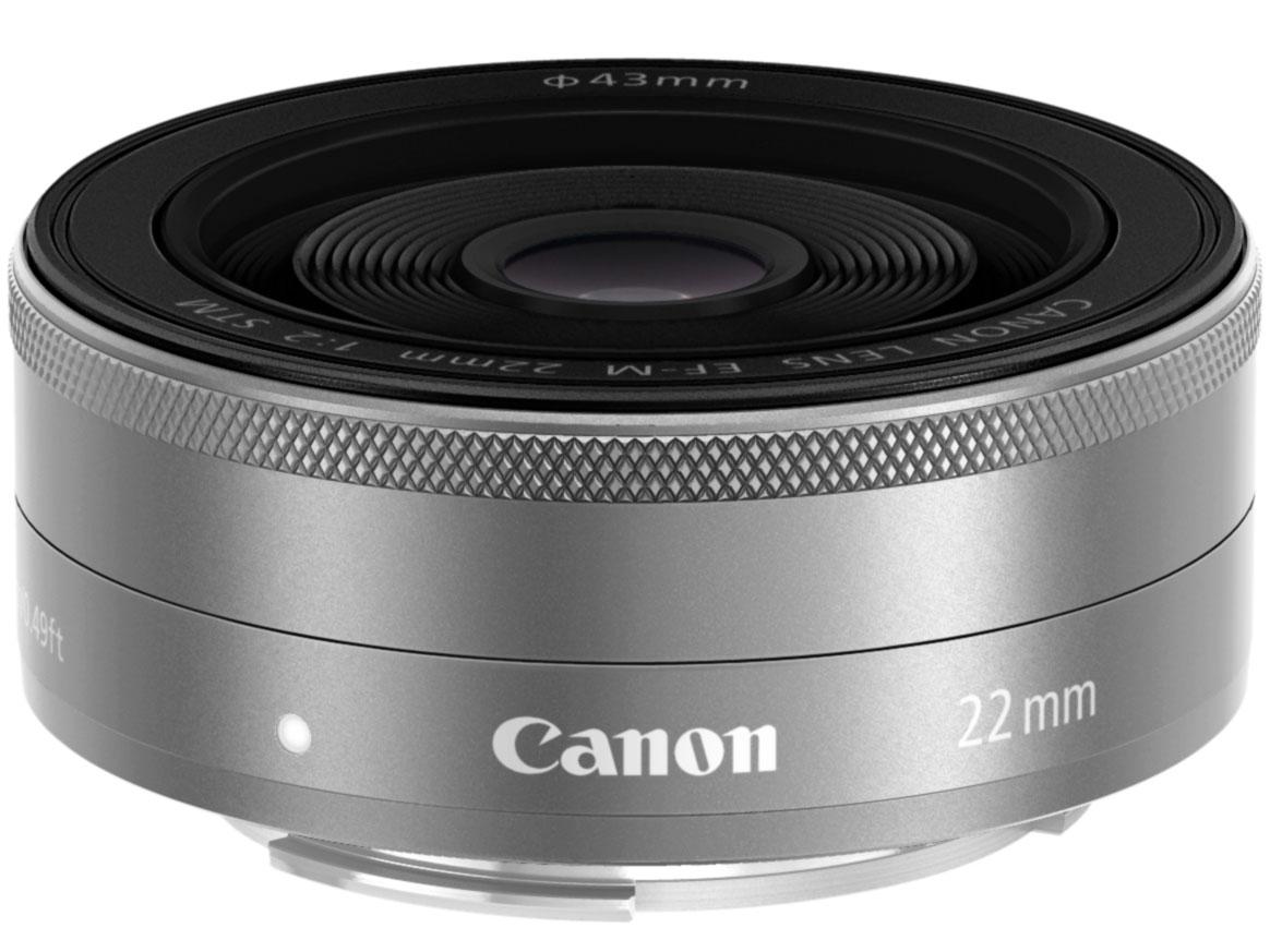キヤノン Canon EF-M22mm F2 STM [シルバー]